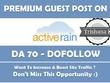 Publish Guest Post Activerain.com Real Estate ActiveRain - DA 83