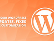 1 hour wordpress website updates, fixes, or customization
