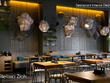 Design the best interior of your fast food or dining restaurant