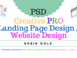 Create PRO, Unique, Custom Designed PSD Mockup For Your Site