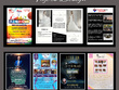 Design professional Flyers, Brochures, and Posters for you