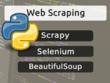Scrape data with Scrapy,Selenium,BeautifulSoup (Python)
