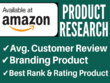 Professional Amazon Product Research,keywords for amazon listing