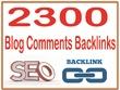 Blog comments PR7 to PR10 Backlinks Package