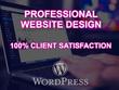 Design and develop your new wordpress website