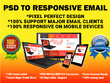 Convert PSD to Responsive Email Template