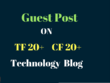 Do Homepage Dofollow Guest Post On My Real Tech Website