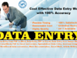 Do all kind of Data Entry Work for 3 Hours