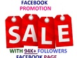 Promote your ads or business on my 94k following Facebook Page