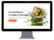 Build the perfect website for a catering company