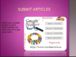 Writes and 2 articles submission high DA sites