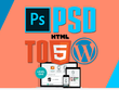 Convert your PSD or HTML to responsive wordpress website
