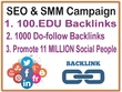 Do professional SEO and  SMM Campaign