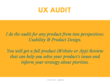 I Will Conduct A UX Audit For Your Website Or App