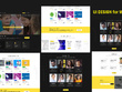 Design Your UX/UI for Your Website in Adobe XD / Photoshop (PSD)
