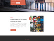 Design (mock up) your website home page / landing page