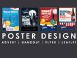 Design a luxury professional flyer / poster / leaflet
