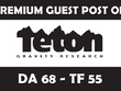 Publish Guest Post on TetonGravity .com Dofollow (Limitd Offer)