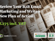 Review Your B2B Email Marketing and Write a New Plan of Action