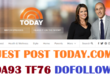 Guest post on today.com DA93 TF76 Traffic 9.3 M Do-Follow Link