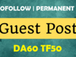 Publish your article on DA60, TF50 Dofollow Authority Blog
