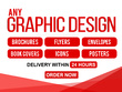 Do Any Graphic Design Work In 24hrs