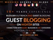Write & Guest Post 7 x 600 SEO Guest Blogs via Blogger Outreach
