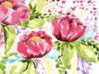 Design watercolor patterns