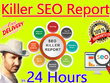 Create Professional SEO ANALYSIS Report of your WEBSITE
