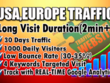 Provide 1000 Daily USA, Europe, Real Organic  Web Traffic