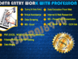 Do all all type of data entry work.
