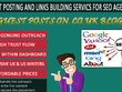 Seo Guest Posting via blogger outreach .Co.Uk Sites/Blogs