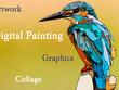 Convert photo into unique custom graphic style digital painting