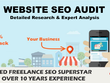 Website SEO Audit, Backlink, Keyword and Competitor Report