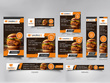 Your new Google web banner ad designs in 9 different sizes