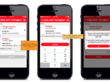 Design wireframes in Axure for your 12 screen mobile app