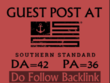 Place a High Quality Dofollow Guest Post on Southernstandard