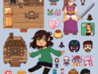 Make some cute customized pixel art for you!