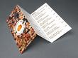 Design a sophisticated Tri-fold menu