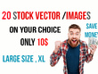 Provide 20 HD stock photos and Royalty HD images/ vector