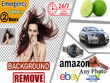Do 20 Photos Background Removal in 24 hours