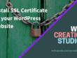 Install SSL Certificate on your WordPress Website