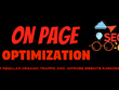Do on page optimization to improve website ranking