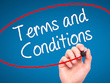 Write your company's terms and conditions of service