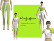 Make a 3d fashion garments modeling with pattern