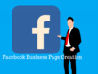 Create your facebook business page and optimize it