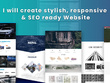 Create a stylish Website using Divi theme | Responsive + SEO