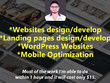 Provide one hour customization in Websites/Landing pages