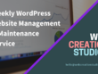 Weekly WordPress Website Management & Maintenance Service