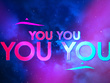 Create animated lyric video with high quality